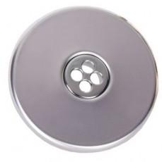 Форсунка подающая стеновая, круглая, 1 1/2  н.р., длина 40 мм, с г/м отверстием 4х8 мм,