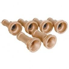 Закладные детали системы г/м  ;Combi-Whirl ; стеновой, 2 всасыв. и 4 подающ. форс., 240 мм, бронза