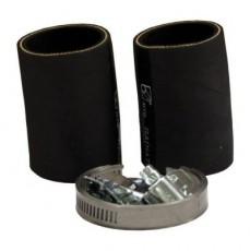 комплект резиновых шлангов для подсоединения теплообменника: NW 50