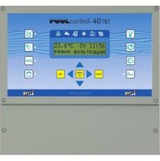 Многофункц. блок управления PC-40-NET конфигурир. для переливных и скиммерных бассейнов
