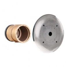 Закладная часть забора воды d=300 мм (бронза), с ПВХ фланцем