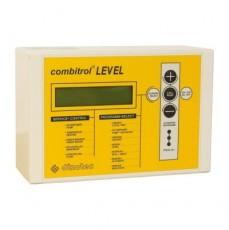 Многофункциональное устройство управления фильтрацией и уровнем воды в переливной емкости Combitrol LEVEL, с УЗ датчиком, 400В/50 Гц, блоком выравнивания номинального тока насоса