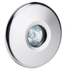Прожектор галогеновый  MIDI 50 Вт, 12В AC, круг 140 мм, V4A, 2 м кабель 2x1,5 мм2, RG
