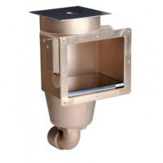Скиммер 240 мм с 1 выходом, вн. р. 2 , бронза для соленой воды