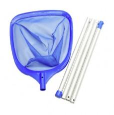 Сачок Smart для листвы с алюм. 3-х составной телескопич.штангой l=1,4 м