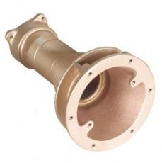 Заборник г/м  ;Combi-Whirl , закл.часть, 240 мм, вн.р. 2 ; для плит. и плен. басс., бронза