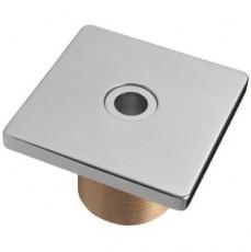 Форсунка подающая стеновая,  квадратная, 2  н.р., длина 40 мм, с г/м отверстием 18 мм, 103х103,