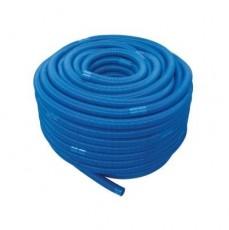 Шланг гофрированный ECO, d=38 мм, цвет - голубой, секция - 1,5 м (100 м в бухте)
