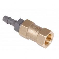 Обратный клапан для противотока Taifun Duo, с ПВХ-винт / 8 бронза