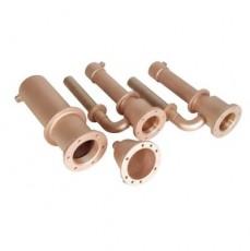 Гидромассаж Fitstar  стандарт 2 форсунки - основной комплект 0,5 кВт, бронза/нерж.сталь