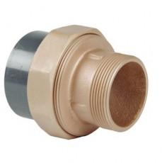 Муфта разборная бронза/ПВХ d63-2  н.р. FS