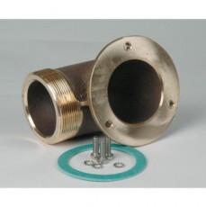 Угол G2 1/2   90* для подключения насосов type: FB 65, бронза