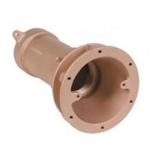 Заборник г/м  ;Combi-Whirl , закл.часть, 240 мм, вн.р. 2½ ; для плит. и плен. басс., бронза