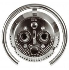 Лицевая часть противотока Taifun Duo, бронза/нерж. сталь, с сенсорн. кнопкой