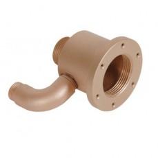 Форсунка г/м  ;Standard ; mini, закл.часть,  80 мм, для плит. и плен. басс., бронза
