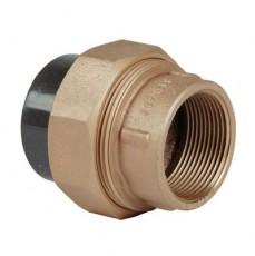 Соединительная муфта бронза/ПВХ, G1 1/2 внутр. р. 50, DN 40