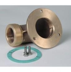 Угол G2 90* для подключения насосов type: FB 65, бронза