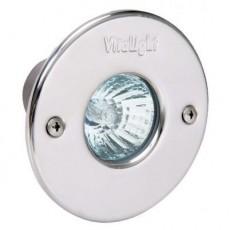 Прожектор галогеновый  50 Вт, 12В AC, круг 110 мм, V4A, 2 м кабель 2x1,5 мм2, BZ