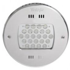 Прожектор Power LED, 24x3Вт, 12В DC, круг 270 мм, V4A, монох. 6000К, 5 м кабелем 2x1,5 мм2, BZ