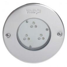 Прожектор 9 Power LED 2.0, 24 Вт, 24В DC, круг 146 мм, V4A, монох. 3000К, 5 м кабель 2x1,5 мм2, BZ