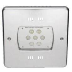 Прожектор 21 Power LED 2.0, 56 Вт, 24В DC, квадрат 270 мм, V4A, RGB, 5 м каб. 2x1,5 мм2, BZ