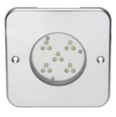 Прож. 15 Power LED 2.0, 40 Вт, 24В DC, квадрат 150 мм, V4A, монох. 6000К, 5 м кабель 2x1,5 мм2, BZ