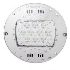 Прож. 30 Power LED 2.0, плоский-в дно, 80 Вт, 24В DC, круг-V4A, монох. 3000 К, 5 м 2x1,5 мм2, BZ