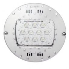 Прож. 30 Power LED 2.0, плоский-в дно, 80 Вт, 24В DC, круг-V4A, монох. 6000 К, 5 м 2x1,5 мм2, BZ