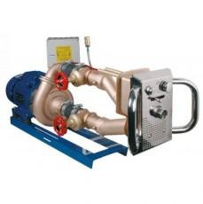 Основной комплект противотока Junior , насос - 2,6 кВт, 850 л/мин., 230 / 400 В, 3~, бронза/нерж.ст