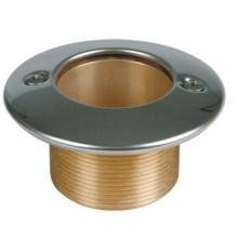 Форсунка донного пылесоса 2  н.р., длина 70 мм, для бет. басс. бронза/нерж.сталь