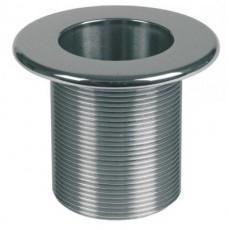 Форсунка донного пылесоса 2  н.р., длина 40 мм, для бет. басс. NiSn, нерж. сталь/бронза