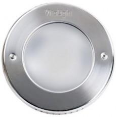 Прожектор галогеновый  2x50 Вт, 12В AC, круг 270 мм, V4A, 2,5 м кабель 2x2,5 мм2, RG