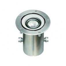 Прожектор галогеновый для встраивания в пол,  BES 150 QSY, 10,20,35 Вт/12 В, GY6,35