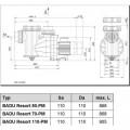 Насос Speck Badu Resort-PM 110, 110 м³/ч, 400 В
