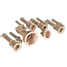 Закладные детали системы г/м  ;Standard , 6 форсунок, 240 мм, бронза