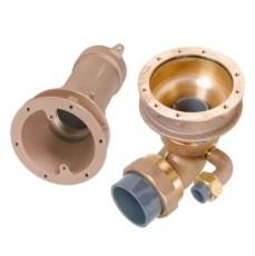 Закладные детали системы г/м  ;Combi-Whirl ; донный, 1 всасыв. и 1 подающ. форс.,   240 мм, бронза