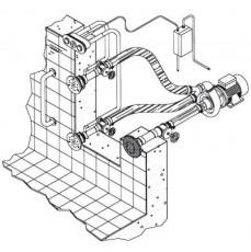 Основной компл.системы г/м  ;Combi-Whirl ; стеновой, 1всасыв и 2 подающ.форс.насос - 2,6 кВт,