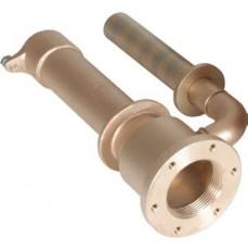 Форсунка г/м  ;Standard , закл.часть, 240 мм, для плит. и плен. басс., бронза