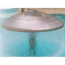 Комплект водопада Гриб , тип 1000, насос 2,6 кВт, 230 / 400 В,  50 Гц, бронза/нерж.сталь