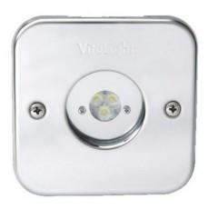 Прож. 3 Power LED 2.0, 8 Вт, 24В DC, квадрат 113 мм, V4A, монох. 3000К, 5 м кабель 2x0,75 мм2, RG