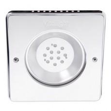 Прожектор Power LED, 12x3Вт, 12В DC, 60, квадрат 270 мм, V4A, монох. 6000К, 5 м 2x1,5 мм2, RG