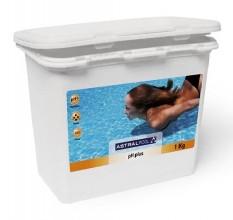 """Cредство для повышения кислотности (pH) воды """"AstralPool"""" pH-плюс порошок, 1 кг"""