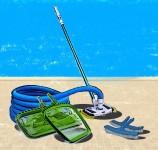 Принадлежности для ручной очистки бассейнов