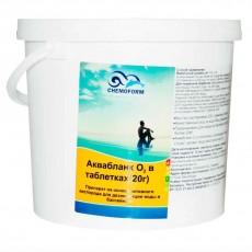 """Аквабланк О2 """"Chemoform"""" в таблетках (20г), 5 кг"""