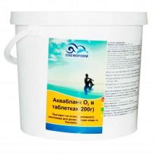 """Аквабланк О2 """"Chemoform"""" в таблетках (200г), 10 кг"""