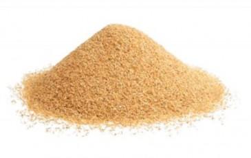 Кварцевый песок фракция 0.7-1.2 (25 кг)