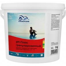 """Cредство для повышения кислотности (pH) воды """"Chemoform"""" pH-Плюс гранулированный, 5 кг"""