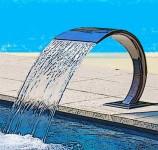 Водопады и водяные пушки для бассейнов